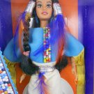 "Barbie DOTW 1993 Native American 2nd Edition ""Dolls of the World"" MIMP – Mattel"