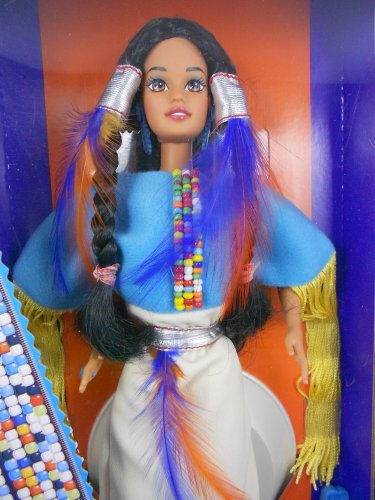 Barbie DOTW 1993 Native American 2nd Edition �Dolls of the World� MIMP � Mattel