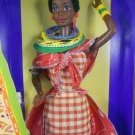 "Barbie DOTW 1993 Kenyan Barbie ""Dolls of the World"" – MIMP – Mattel"