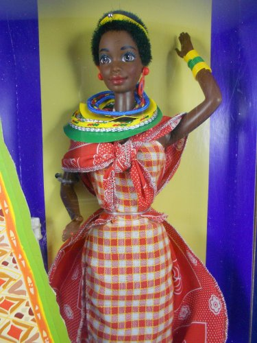 Barbie DOTW 1993 Kenyan Barbie �Dolls of the World� � MIMP � Mattel