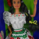 "Barbie DOTW 1995 Mexican Barbie ""Dolls of the World"" – MIMP – Mattel"