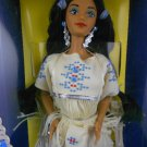 "Barbie DOTW 1992 Native American Barbie ""Dolls of the World"" – MIMP – Mattel"