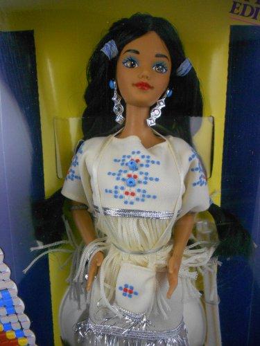 Barbie DOTW 1992 Native American Barbie �Dolls of the World� � MIMP � Mattel