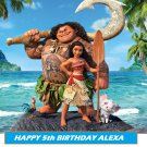 Disney Moana  Edible Cake topper decoration