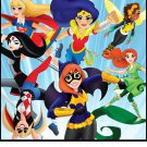 Super Hero Girls Edible image Cake topper decoration