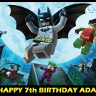 Lego Batman Edible image Cake topper decoration