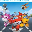 Super Wings Party Edible image Cake topper