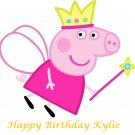 Peppa Pig Edible Cake topper decoration