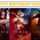 Wonder Woman Movie Party Edible image Cake topper decoration
