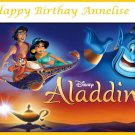 Aladdin Edible image Cake topper decoration