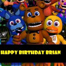 Five Nights at Freddy's Edible image Cake topper decoration