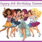 Lego Friends Party Edible image Cake topper decoration