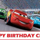 Disney Cars Party Edible image Cake topper