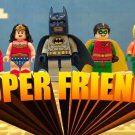 Lego Batman Superfriends Edible image Cake topper decoration