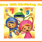 Team Umizoomi Party Edible image Cake topper