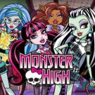 Monster High Party Edible  image Cake topper decoration
