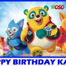 Special Agent Oso Party Edible image Cake topper