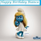 Smurf  Movie 2 Smurfette  Edible Cake topper decoration