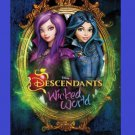 Disney Descendants Wicked World Edible image Cake topper decoration