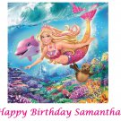 Barbie and the Mermaid Tales Edible image Cake topper decoration