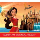 Disney Elena of Avalor Party  Edible image Cake topper decoration