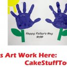 Create Your Own Custom Father's Day w/ Art Edible image Cake topper decoration