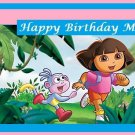 Dora the Explorer Party Edible  image Cake topper decoration