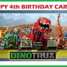 Dino Trux  Edible Cake topper decoration