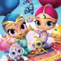 Shimmer and Shine Party  Edible image Cake topper decoration