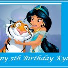 Aladdin Princess Jasmine Edible image Cake topper decoration