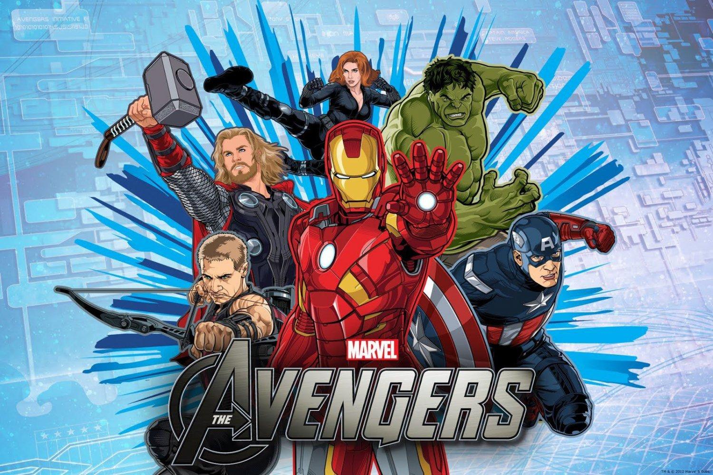 Avengers Edible image Cake topper decoration