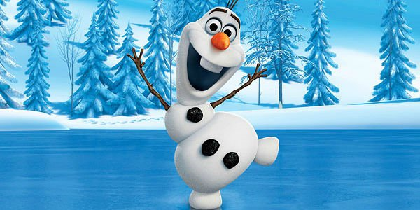Frozen Olaf image Cake topper decoration