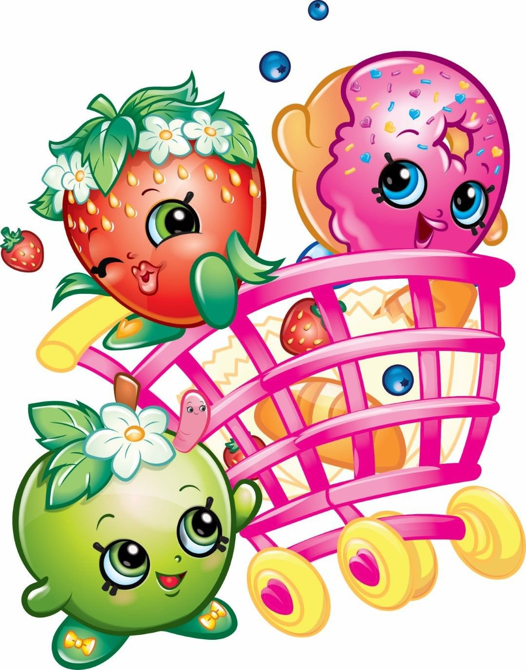 Shopkins Edible image Cake topper decoration
