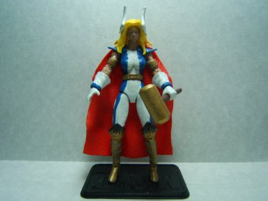 "Custom 3.75"" Marvel THORGIRL figure - poseable & MADE TO ORDER"