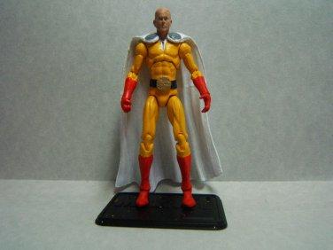 "Custom 3.75"" SAITAMA - ONE PUNCH MAN figure - poseable & ready to go"