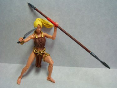 "Custom 3.75"" Marvel SHANNA The SHE-DEVIL figure - poseable & ready to go"
