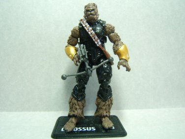 "Custom 3.75"" Steampunk Star Wars CHEWBACCA figure - poseable & ready to go"