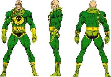 """Custom 3.75"""" Marvel BARON STRUCKER figure - poseable & MADE TO ORDER"""