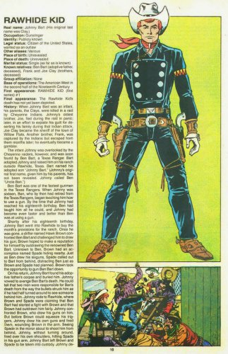 "Custom 3.75"" Marvel RAWHIDE KID figure - poseable & MADE TO ORDER"