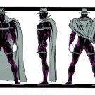 "Custom 3.75"" Marvel MIDNIGHT SUN figure - poseable & MADE TO ORDER"
