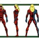 "Custom 3.75"" Marvel WILD HEART figure - poseable & MADE TO ORDER"