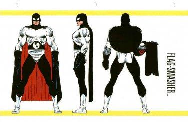 """Custom 3.75"""" Marvel FLAG SMASHER figure - poseable & MADE TO ORDER"""