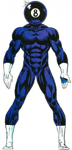 "Custom 3.75"" Marvel 8-BALL figure - poseable & MADE TO ORDER"
