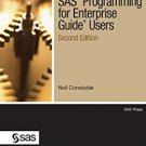 Ebook 978-1607645283 SAS Programming for Enterprise Guide Users, Second Edition