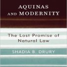 Ebook 978-0742522589 Aquinas and Modernity: The Lost Promise of Natural Law (Modernity and Politi