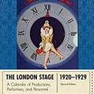 Ebook 978-0810893016 The London Stage 1920-1929: A Calendar of Productions, Performers, and Perso