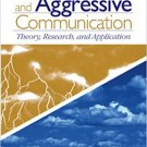 Ebook 978-0761930891 Argumentative and Aggressive Communication: Theory, Research, and Applicatio