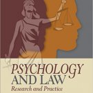 Ebook 978-1452258911 Psychology and Law: Research and Practice