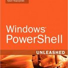 Ebook 978-0672329531 Windows PowerShell Unleashed