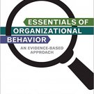 Ebook 978-1483345659 Essentials of Organizational Behavior: An Evidence-Based Approach